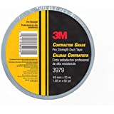 3M Contractor Grade Pro Strength Duct Tape 3979 Silver, 1.88 in x 60 yd 8.0 mil, Individually Wrapped, Conveniently Packaged