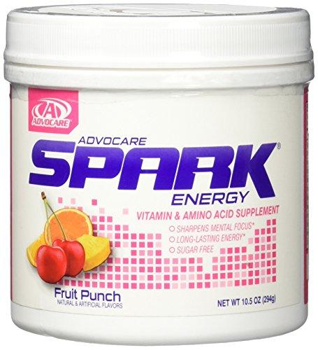 Advocare Spark Fruit Punch Canister, 10.5 OZ - Spark Fruit Punch Canister