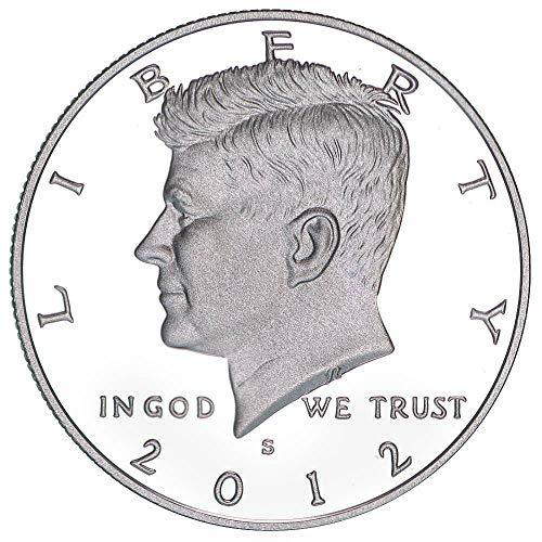 2012 S Kennedy Half Dollar CN Clad Gem Deep Cameo Proof