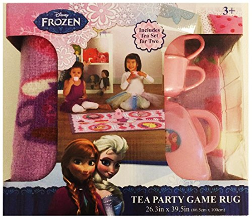 Disney Frozen Tea Party Game Rug for 2 by Disney