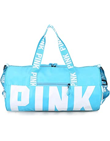 cb25fdadb41 ... Bags or Holdall Pink Gym Sports Bag. Ativafit Sport Bag Printing  Portable High Capacity Sports Travel Barrel Shoulder Bag Duffels