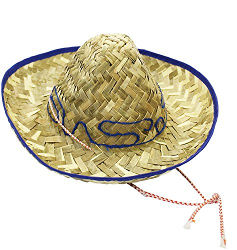 Traditional Mexican Woven Sombrero Child product image