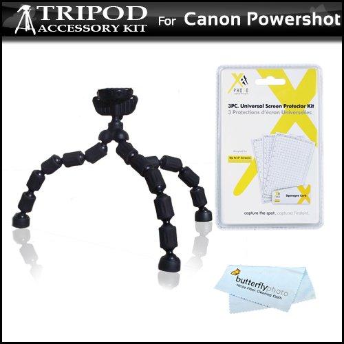 flexible-tripod-kit-for-canon-powershot-sx280-hs-eos-m-powershot-elph-520-hs-elph-530-hs-elph-110-hs