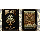 Bicycle Gold Deck by US Playing Cards, limitierte Auflage, Kartenspiel Bicycle Deck Pokerkarten