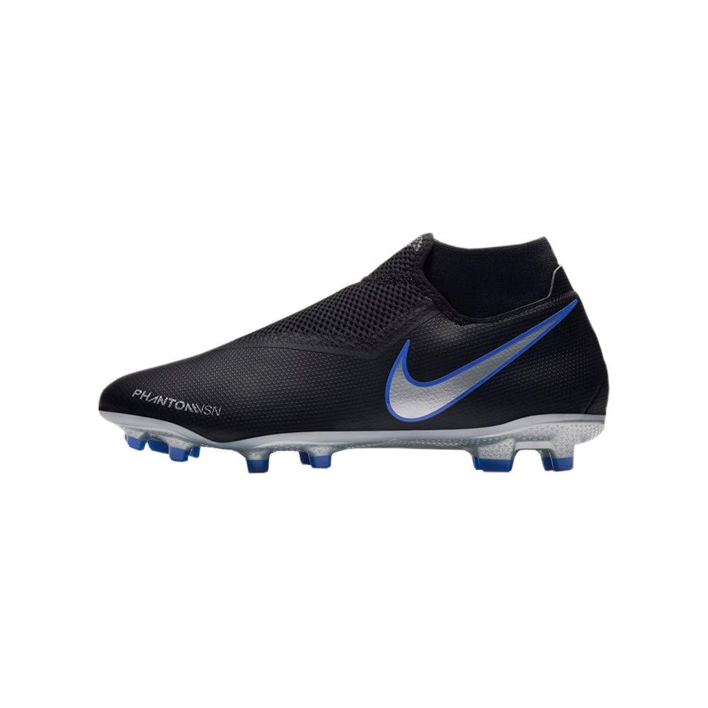 cbcca3c61 Galleon - Nike Phantom Vision Academy Men's Firm Ground Soccer Cleats (8 M  US, Black/Silver)