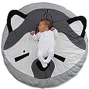 EITC Lovely Fox Animal Baby Kids Playmat Soft Crawling Blanket Room Decoration