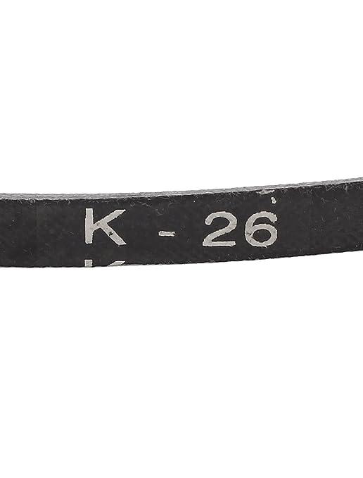 Gummi K Typ K26 Antriebsriemen Antriebsriemen Antriebsriemen Schwarz De Gewerbe Industrie Wissenschaft