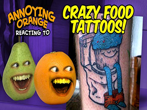 Reacting to Insane Food Tattoos!