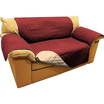 Amazon Com Reversible Microfiber Sofa Cover Throw