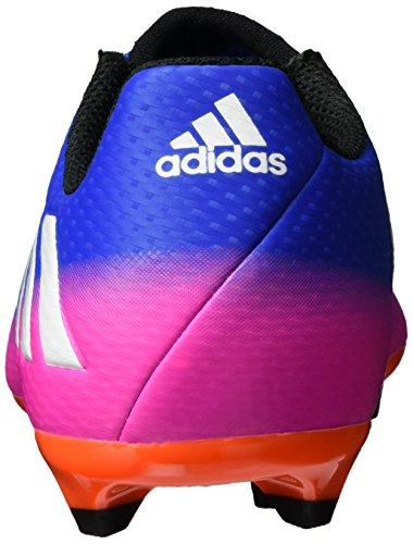 adidas Messi 16.3 Fg J, Zapatillas de Fútbol Unisex Niños Azul (Blue/footwear White/solar Orange)