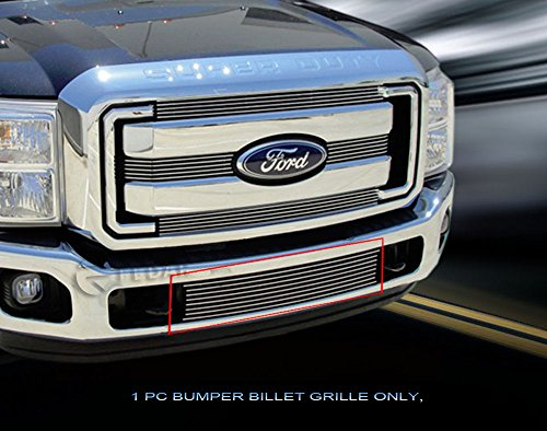 Fedar Lower Bumper Billet Grille Insert for 2011-2016 Ford F-250/F-350/F-450/F-550 XLT/Lariat/King Ranch
