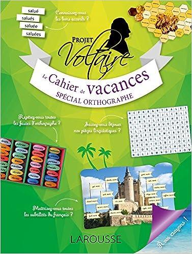 Cahier vacances PROJET