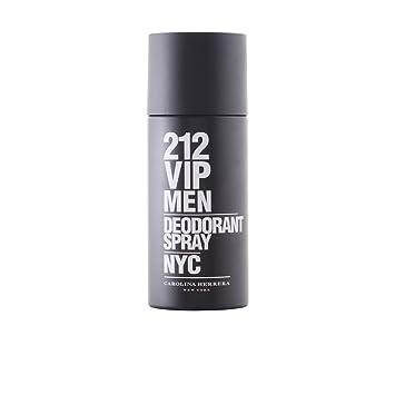 Amazon.com   Carolina Herrera - 212 VIP MEN desodorante vaporizador - 150 ml    Deodorants And Antiperspirants   Beauty 38e7469f1e