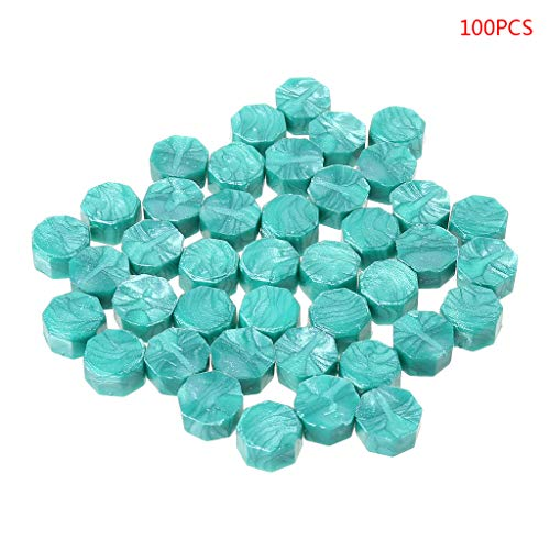 - Yangfr Sealing Wax Beads Nuggets for Wax Seal Stamp,100Pcs Envelope Seal Seal Wax Retro Octagon Beads DIY Stamps