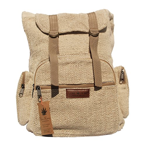 Core Hemp Backpack Rucksack Large Classic Multipurpose Backpack
