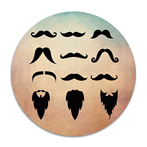 Famous Mustaches A Variety Of Beard Doormat Funny - Mustaches And Cool Beards