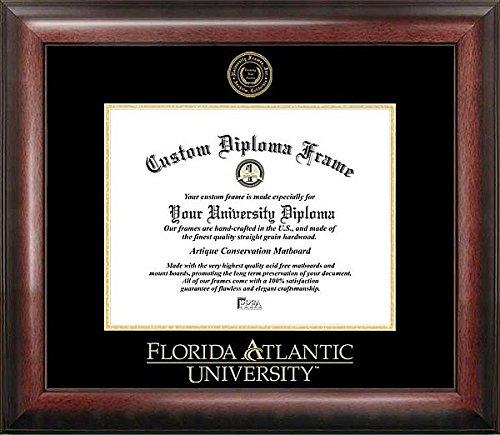 florida-atlantic-university-embossed-gold-foil-seal-graduate-diploma-frame-2017-graduation-diploma-f