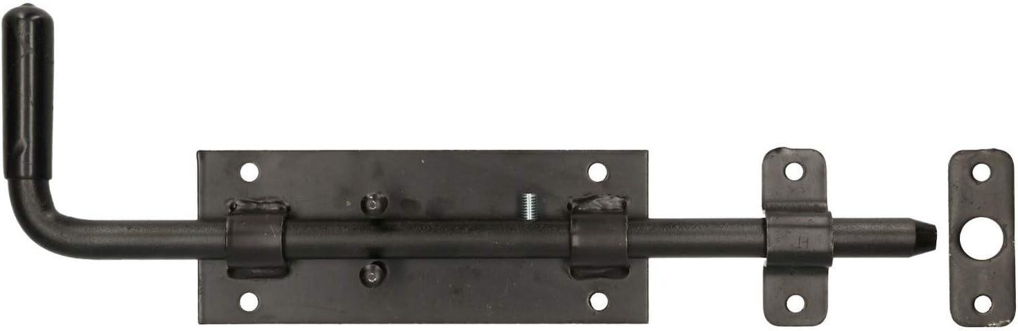 KOTARBAU - Pestillo de puerta de 300 mm, cerrojo de puerta, pestillo de puerta, pestillo de puerta, corredera de puerta, puerta seccional: Amazon.es: Bricolaje y herramientas