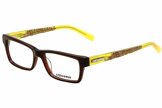 e5dd87ffeecd Amazon.com: New Converse Rx Eyeglasses - G007 Brown - 53/16/140 ...
