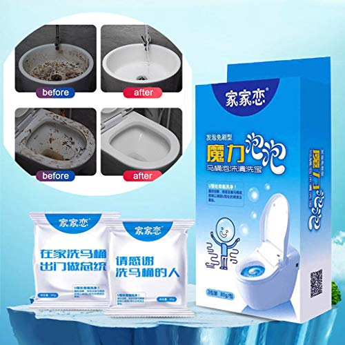 Euone Fast Foaming Cleaner, Fast Foaming Cleaner for Toilet Washing Machine Wewer Sink Floor Tile ()