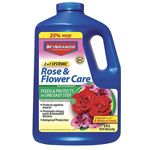 Bayer Advanced (701210A) 2 In 1 Rose And Flower Granules 10 LB (Best Feed For Roses)
