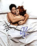 X-Files (Gillian Anderson & David Duchovny) signed 8x10 photo