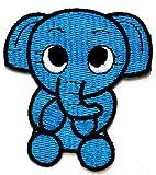 Nipitshop Patches Blue Elephant Zoo Pets Movie