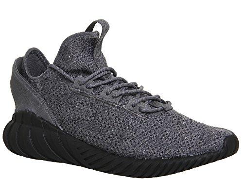 Originaux Adidas Chaussure De Doom Tubulaire Adidas En Daim Et Primeknit Tissu 9 (uk) -9½ (us) Gris