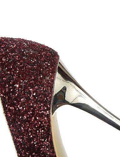GGX/Damen Schuhe Stiletto Heel Spitz Zulaufender Zehenbereich Sparkling Glitter Pumpe mehr Farbe erhältlich golden-us8 / eu39 / uk6 / cn39