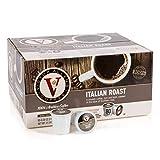 Victor Allen's Coffee K Cups, Italian Roast Single Serve Medium Roast Coffee, 80 Count, Keurig 2.0 Brewer Compatible