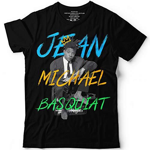(Respect Jean-Michel Legend Artist Tribute Customized T-Shirt/Long Sleeve/Sweatshirt/Hoodie/Tank Top)
