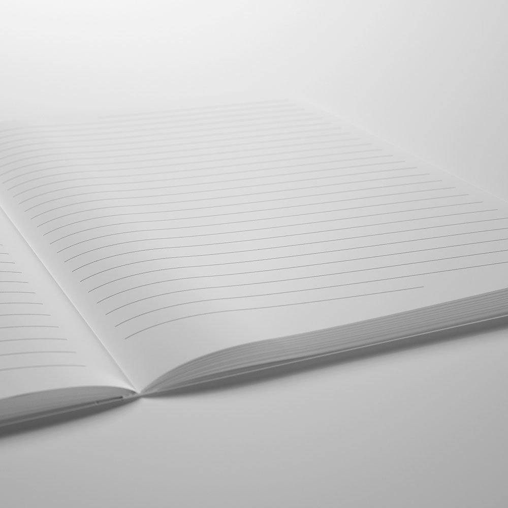 /Quaderno per mancini formato A5 imborrable graduato/ 14.8/x 21/cm 144/pagine