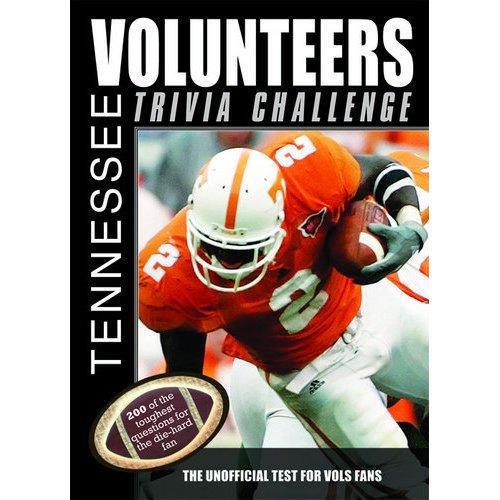 Tennessee Volunteers Trivia Book by ()