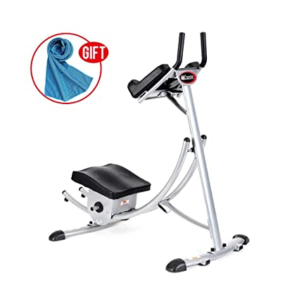 be8adb0905 Image Unavailable. Image not available for. Color  Apelila Abs Abdominal  Exercise Machine Ab Crunch Coaster Body Shaper Max Core Fitness (Type 1