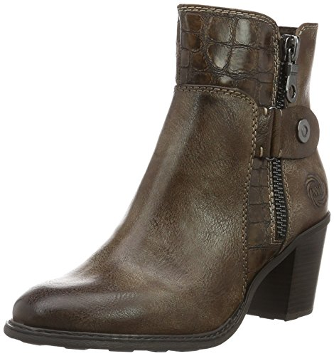 Cafe 25323 Mujer Tozzi Marrón 327 para Ant Comb Botines Marco XYw5dqIY