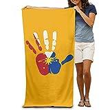 "Philippines Flag 1 31.5""51"" Beach Towel"