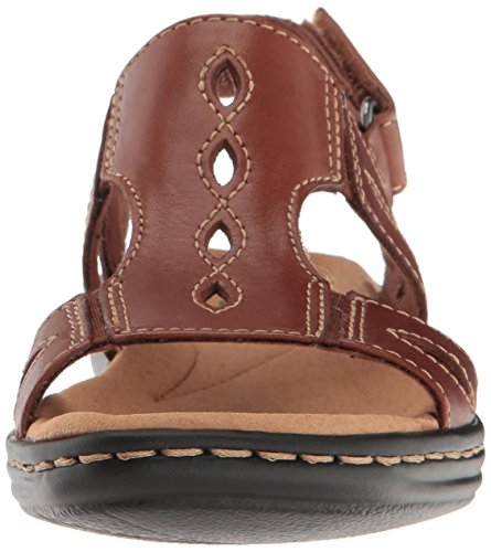 free shipping 100% guaranteed outlet with paypal order online CLARKS Women's Leisa Lakelyn Flat Sandal Tan Leather sale discount dLEj3