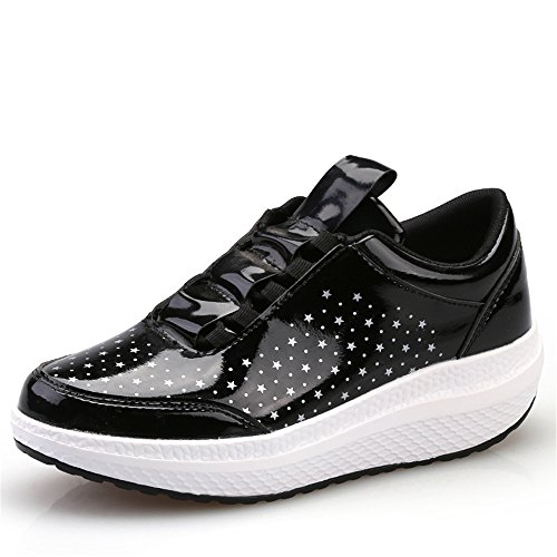 Believed Women Comfort Platform Walking Sneakers Slip-On Shape UPS Fitness Toning Shoes big discount