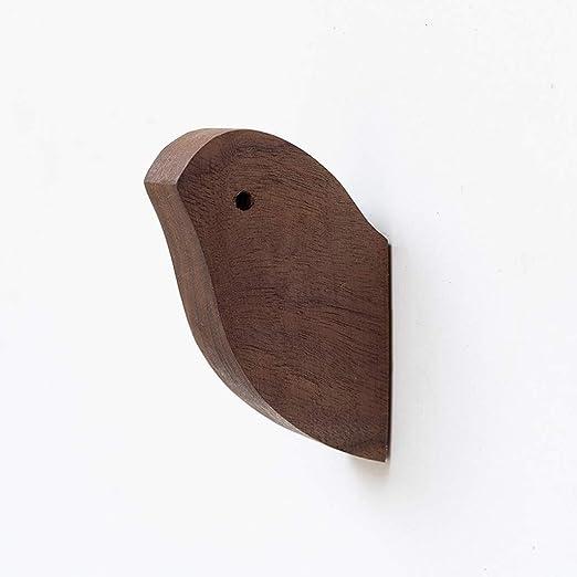 Zhangshuyu A++ Gancho para Ropa de pájaros de Madera sólida ...