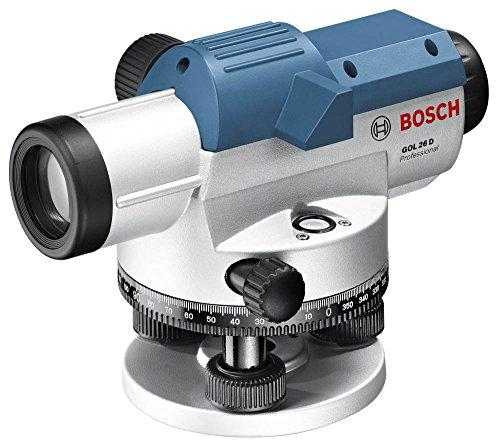 Bosch Professional GOL 26 D Optisches Nivelliergerät, Grad Maßeinheit, Transportkoffer