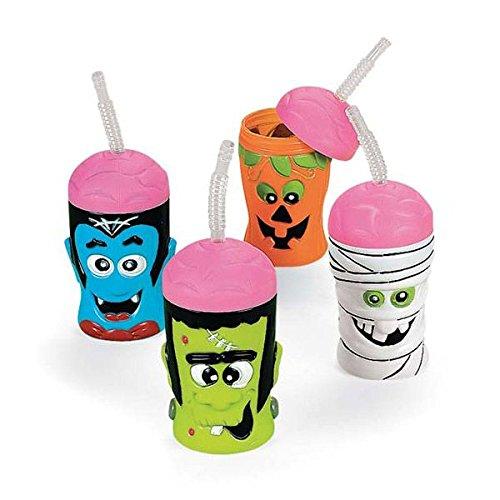[Halloween Brain Head Sipper Cups (Each- Assorted)] (Cup Halloween Sipper)