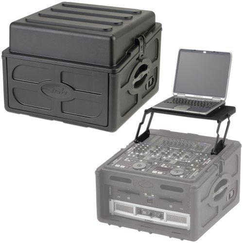 1SKBR104 Rack Case Plus 1SKBAV8 Laptop Stand Pac by SKB Cases