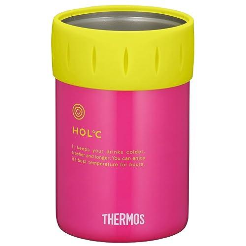 サーモス 保冷缶ホルダー ピンク JCB-351 P