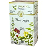 Celebration Herbals Rose Hips Tea Organic 24 Tea Bag, 52Gm