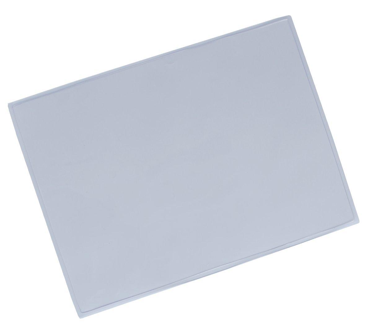 Kim Kranholdt pratica scrivania sott'acqua si trova uno strato di vetro trasparente in plastica, antiscivolo e lavabile, trasparente Format: 630 x 500 mm Kim Kranholdt GmbH 2305000-1