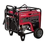 Honda Power Equipment EB4000XAT 4,000W Industrial Portable Generator with iAVR Technology (CARB), Steel