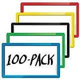 StoreSMART - Smart Magnetic Cards - Variety 100-pack - SMC3X5VP100