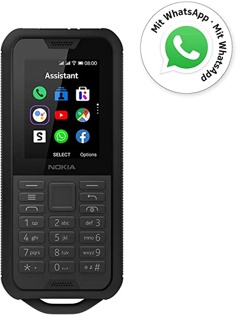 Nokia 800 Tough Black 2.4