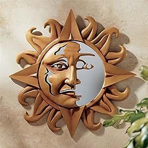 Diseño Toscano Expresiones celestes Sol Espejo