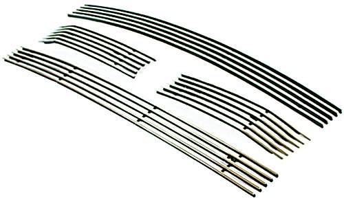 IPCW CWOB-13FD F150/F250 LightDuty Billet Grille (Bolt-On Polished Aluminum Insert. No Drilling -